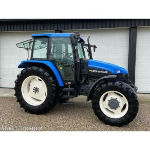 New holland ts115 (1999)