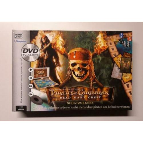 Pirates of the Caribbean Dead Man's Chest Schatzoekers + DVD