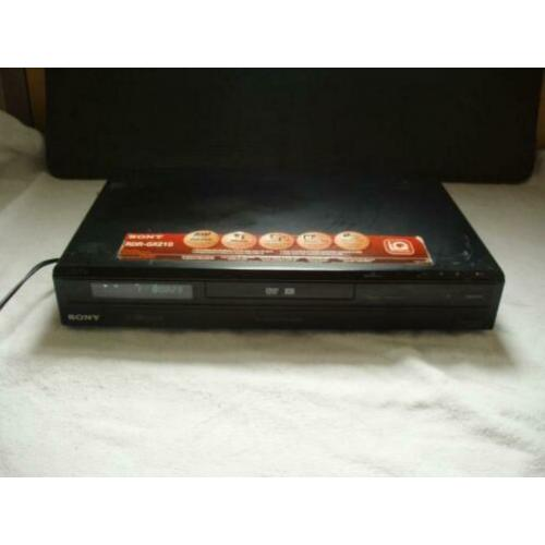 Sony DVD-recorder type RDR-GX210 Zwart ( izgs ) Digital Out