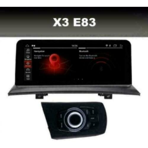 BMW X3 E83 navigatie android 9.0 wifi dab+ carplay octacore