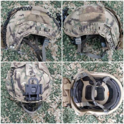 Ballistische high cut helm ops-core multicam KCT MARSOF