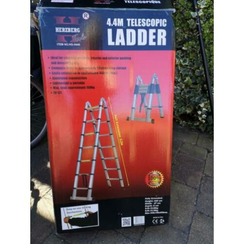 Telescoop ladder /trap